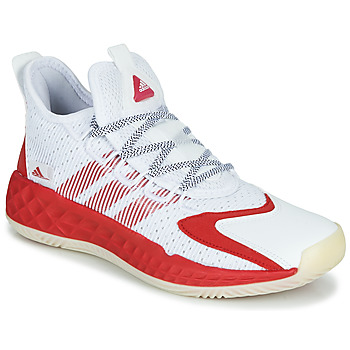 Schoenen Basketbal adidas Performance COLL3CTIV3 2020 LOW Wit / Rood