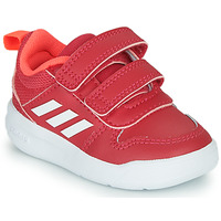 Schoenen Meisjes Lage sneakers adidas Performance TENSAUR I Roze / Wit