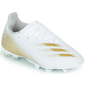 Schoenen Kinderen Voetbal adidas Performance X GHOSTED.3 FG J Wit