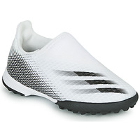 Schoenen Kinderen Voetbal adidas Performance X GHOSTED.3 LL TF J Wit