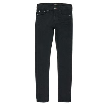 Textiel Jongens Straight jeans Teddy Smith FLASH Zwart