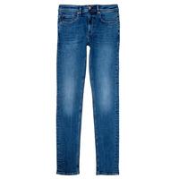 Textiel Jongens Straight jeans Teddy Smith FLASH Blauw