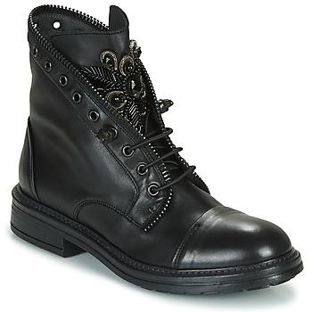 Schoenen Dames Laarzen Fru.it ADIETE Zwart
