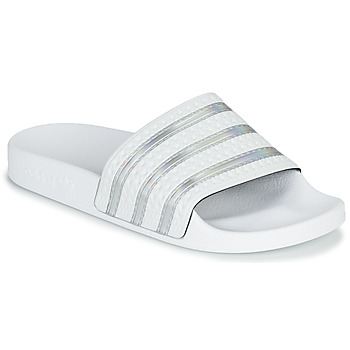 Schoenen Dames slippers adidas Originals ADILETTE W Wit