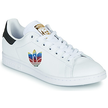 Schoenen Dames Lage sneakers adidas Originals STAN SMITH W Wit / Logo