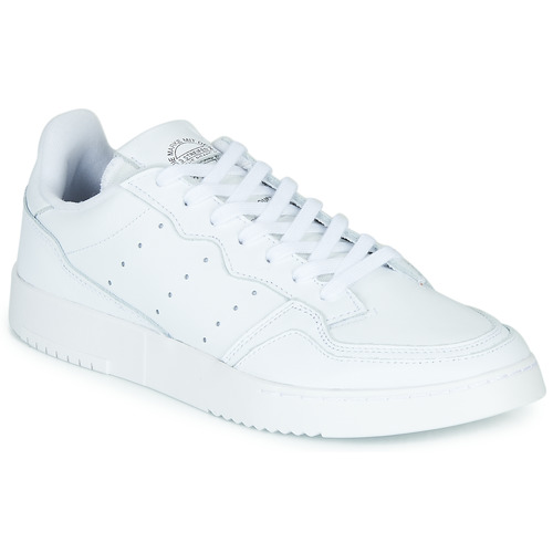 Schoenen Lage sneakers adidas Originals SUPERCOURT Wit