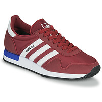 Schoenen Lage sneakers adidas Originals USA 84 Bordeau / Wit