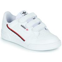 Schoenen Kinderen Lage sneakers adidas Originals CONTINENTAL 80 CF C Wit