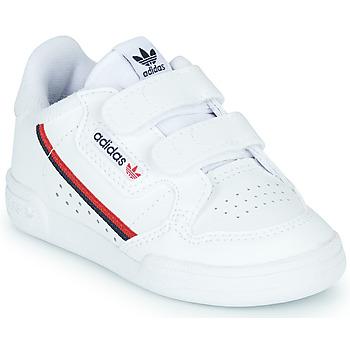 Schoenen Kinderen Lage sneakers adidas Originals CONTINENTAL 80 CF I Wit