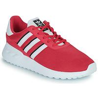 Schoenen Meisjes Lage sneakers adidas Originals LA TRAINER LITE C Roze
