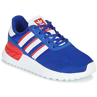 Schoenen Jongens Lage sneakers adidas Originals LA TRAINER LITE C Blauw