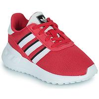 Schoenen Meisjes Lage sneakers adidas Originals LA TRAINER LITE EL Roze