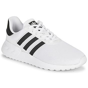 Schoenen Kinderen Lage sneakers adidas Originals LA TRAINER LITE J Wit / Zwart