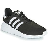 Schoenen Kinderen Lage sneakers adidas Originals LA TRAINER LITE J Zwart / Wit