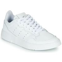 Schoenen Kinderen Lage sneakers adidas Originals SUPERCOURT J Wit
