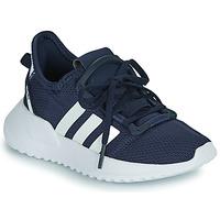 Schoenen Jongens Lage sneakers adidas Originals U_PATH RUN C Marine / Wit