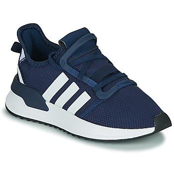 Schoenen Jongens Lage sneakers adidas Originals U_PATH RUN J Marine / Wit