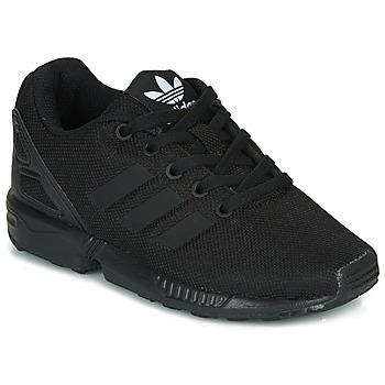Schoenen Kinderen Lage sneakers adidas Originals ZX FLUX C Zwart