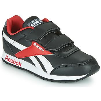 Schoenen Kinderen Lage sneakers Reebok Classic REEBOK ROYAL CLJOG Zwart / Wit / Rood