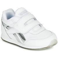 Schoenen Meisjes Lage sneakers Reebok Classic REEBOK ROYAL CLJOG Wit / Zilver