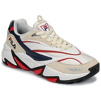 Schoenen Heren Lage sneakers Fila RUSH Wit / Beige / Rood