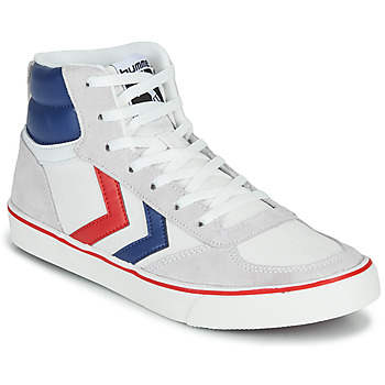 Schoenen Hoge sneakers Hummel STADIL HIGH OGC 3.0 Wit / Blauw / Rood