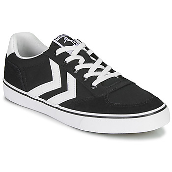 Schoenen Lage sneakers Hummel STADIL LOW OGC 3.0 Zwart / Wit
