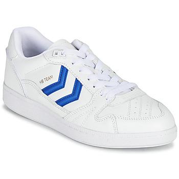 Schoenen Lage sneakers Hummel HB TEAM Wit / Blauw