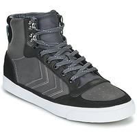 Schoenen Hoge sneakers Hummel STADIL WINTER Zwart / Grijs