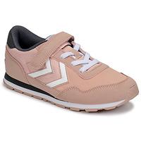 Schoenen Meisjes Lage sneakers Hummel REFLEX JR Roze