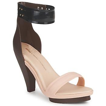Schoenen Dames Sandalen / Open schoenen Melissa NO 1 PEDRO LOURENCO Beige / Bruin