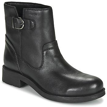 Schoenen Dames Laarzen Geox RAWELLE Zwart