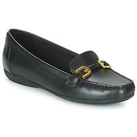 Schoenen Dames Mocassins Geox ANNYTAH MOC Zwart