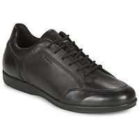 Schoenen Heren Derby Geox ADRIEN Zwart