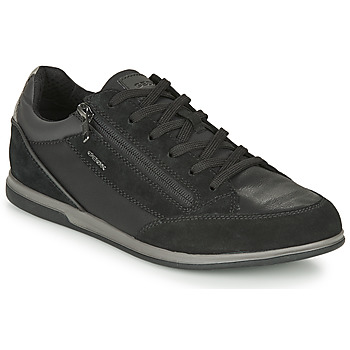 Schoenen Heren Lage sneakers Geox RENAN Zwart