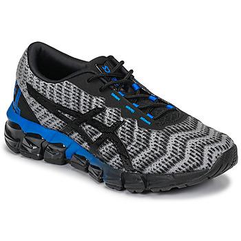 Schoenen Kinderen Lage sneakers Asics GEL-QUANTUM 180 5 GS Grijs / Zwart / Blauw