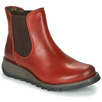 Schoenen Dames Laarzen Fly London SALV Rood