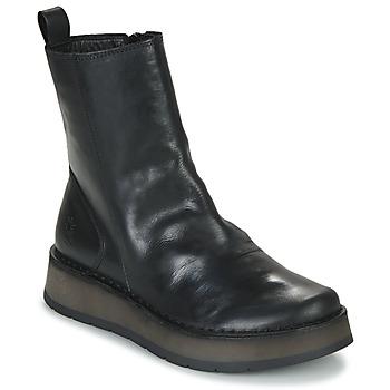 Schoenen Dames Laarzen Fly London RENO Zwart