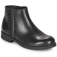 Schoenen Meisjes Laarzen Geox AGGATA Zwart