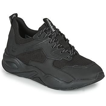 Schoenen Dames Lage sneakers Timberland DELPHIVILLETEXTILESNEAKER Zwart