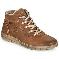 Schoenen Dames Hoge sneakers Josef Seibel STEFFI 53 Bruin