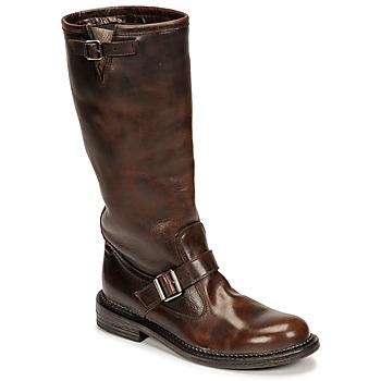 Schoenen Dames Hoge laarzen Moma BIRERS Bruin