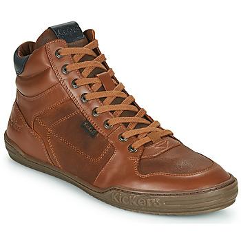 Schoenen Heren Hoge sneakers Kickers JEXPLOREHIGH Bruin