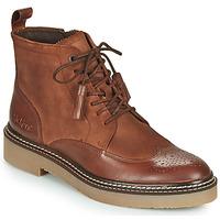 Schoenen Dames Laarzen Kickers OXANYHIGH Bruin