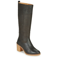 Schoenen Dames Hoge laarzen Kickers AVERNO Bruin / Donker