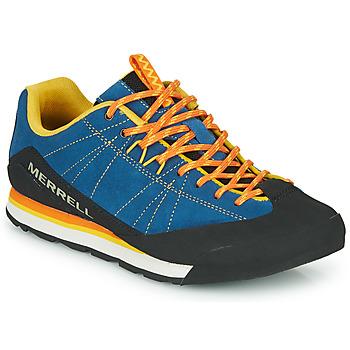 Schoenen Heren Lage sneakers Merrell CATALYST SUEDE Blauw