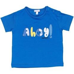 Textiel Jongens T-shirts korte mouwen Nanan E20174 Avio