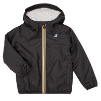 Textiel Kinderen Wind jackets K-Way LE VRAI 3.0 CLAUDE ORSETTO KIDS Zwart