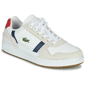 Schoenen Dames Lage sneakers Lacoste T-CLIP 0120 2 SFA Wit / Marine / Rood
