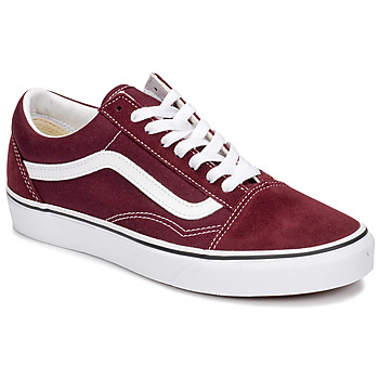 Schoenen Lage sneakers Vans OLD SKOOL Bordeau